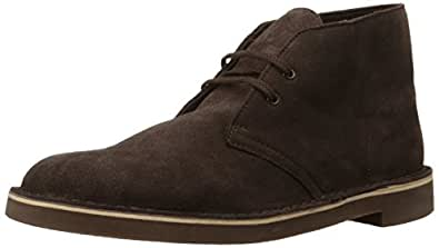 Clarks 男士 Bushacre 2 Boot,Brown Suede,7 M US