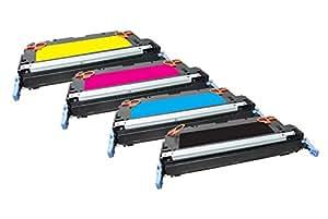 Freecolor Q6470A/71A/72A/73A 适用于惠普 Color LaserJet 3600,彩虹套件,高级调光器,重新加工 6000/4000 页,5% 覆盖,黑色