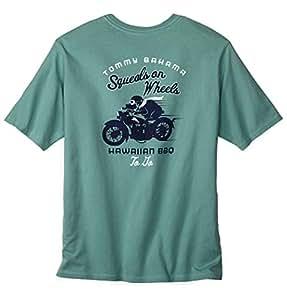 Tommy Bahama 滚轮上的小丑 Dusty Aruba T 恤