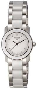 TISSOT 天梭 瑞士品牌  2011年T-Trend新款瓷艺系列陶瓷石英手表 女士碗表  T064.210.22.011.00