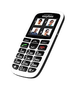 Easyfone - India's most senior citizen friendly phone (White)