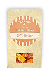 Farrah's of Harrogate Jelly Babies Candy Boxes 125 g