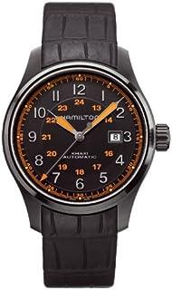 Hamilton 男士 H70685337 卡其色 Field GMT 手表