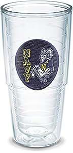 Tervis US Naval Academy Seal Emblem Individual Tumbler, 24 oz, Clear