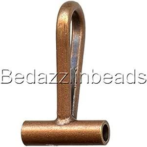 用于更换胸针和别针到镀铬黄铜金属 古铜 0752993876314