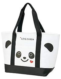 Skater斯凯达购物包 保冷 手提包 购物包 LOVE 熊猫 53×34×18cm KCTS1