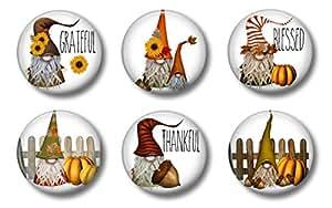 万圣节磁铁 4.45 厘米 Autumn Thanksgiving Gnomes