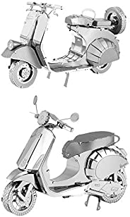 Fascinations Metal Earth 3D 金属模型套件 Vespa 2 件套 Primavera 150 - 经典 125