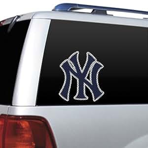 MLB New York Yankees Die Cut Window Film
