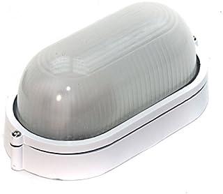 REV Ritter 56210 椭圆形户外灯 60 W 白色铝 0590052555
