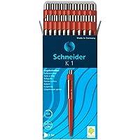 Schneider 壓球筆 K 1 M 文件,文件級 紅色