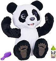 Hasbro 孩之宝 FurReal Friends E85935S1 FurReal Plum,我的可爱的熊猫,互动毛绒玩具,4岁以上