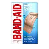 Band-Aid 粘性绷带 Extra Large Tough-Strips Waterproof 10