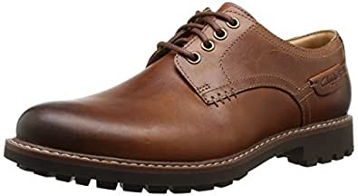 Clarks 男 商务休闲鞋 Montacute Hall 20351085 brown UK 6.5