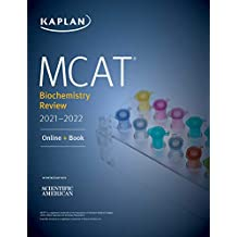 MCAT Biochemistry Review 2021-2022 (Kaplan Test Prep) (English Edition)