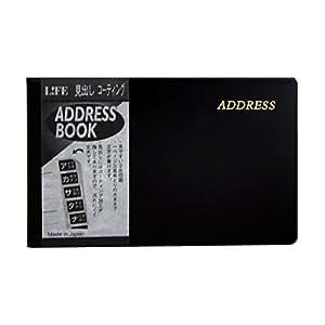 LIFE 地址 笔记本 黑色