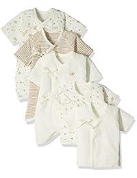 Skip House 新生儿内衣5件套 蜜蜂图案 50厘米-60厘米 棉100% RNB-16