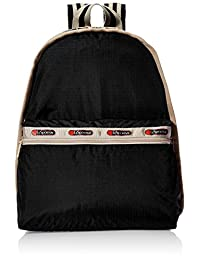 Lesportsac 女式 LEBLACK系列BASIC BACKPACK W/O POUCH款式双肩包 1730C2218D38
