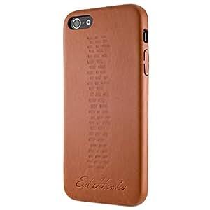 The Revel 超薄耐用皮革皮质,适用于 iPhone SE、5、5S、6、6S、6+、6 Plus、7+、7 Plus。 超薄后盖设计独特。EHI7-RV-BN iPhone 7 复古棕色