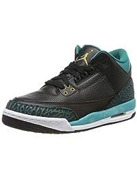 Jordan Unisex-Kinder 3 Retro Gg 441140-018 Hohe Sneaker