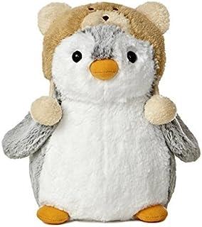 Aurora World 的 PomPom 9 英寸企鹅毛绒布带棕色帽子