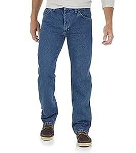 Wrangler 男式 5 星标准款牛仔裤 - 尺码 34X29