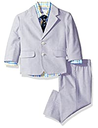 Nautica 男婴条纹套装