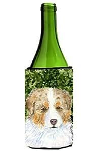 Caroline's Treasures SS8732-Parent 澳大利亚牧羊犬超饮料隔热器适用于纤薄罐 SS8732MUK,多色 多种颜色 750 ml SS8732LITERK
