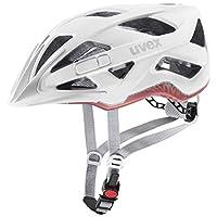 uvex 中性成人 cc 自行车头盔,白色垫子,56-60 厘米