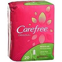 Carefree Original Regular Fresh Scent - 20 Liners, Pack of 3
