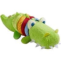 HABA 304759 – Kroko 赛车人物,婴儿玩具由织物制成,带赛车马达,6个月以上儿童