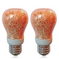 Himalayan Glow 1651C-2PK 天然盐光灯泡,11 瓦,可调光,需配变压器
