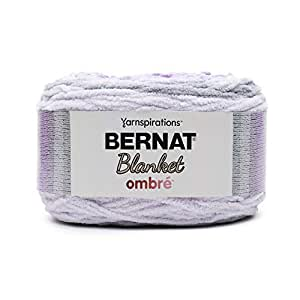 Bernat 毛毯 Ombré 纱线 Cool Purple Ombre 16103636009