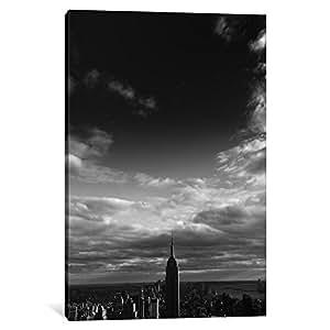 iCanvasART 11652-1PC3-26x18 NYC Manhattan Sky Canvas Print by Nina Papiorek, 0.75 x 18 x 26-Inch