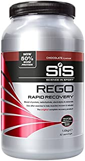 Science in Sport Rego Rapid Recovery Protein Shake, Chocolate, 1.6 kg, 32 Servings