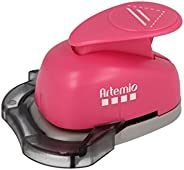 Artemio VIHCP404 直角穿孔器,粉色 2.5 厘米