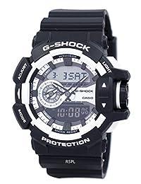 【跨境自营】G SHOCK-Casio 卡西欧 石英男士手表 GA-400-1A(包邮包税)