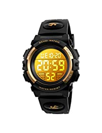 PASNEW Analog-Digital 樹脂 黑色 S1266 Glod watches