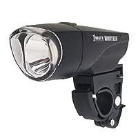 My Pallas 自行车 1WATT WHITE LED 灯 可连续点亮 36小时 用于交叉自行车、MTB、折叠自行车等 MP-LT04