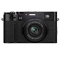 Fujifilm 富士 X100V 无反光镜数码相机,黑色