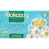 Alokozay Camomille 茶,无咖啡因,25 片