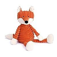 Jellycat 毛绒玩偶 粗条系列 Cordy Roy条纹狐狸34cm