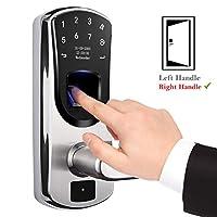 指纹智能门锁,weJupit 生物无钥匙电子锁V8-RIGHT Right Handle