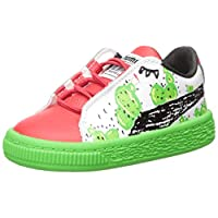 PUMA 彪马 Basket Cactus Monster Ac Inf 儿童运动鞋