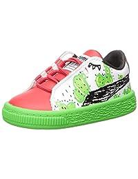 PUMA 彪马 Basket Cactus Monster Ac Inf 儿童运动鞋
