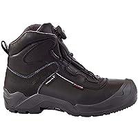 Giasco *靴 S3 Utrecht 带旋转快速锁扣,皮革,黑色,尺寸 39-47 黑色 42 TO259L42