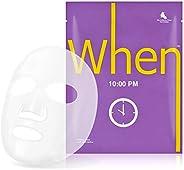 10pm 10:00 時光面膜 含有維生素C和西瓜提取物 夜間修復(4套)4件裝