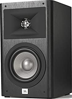 JBL Studio 230 2-Way 6.5 Inch Bookshelf Audio Home Speakers Loudspeaker (Pair) - Black Vinyl