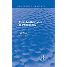 From Mathematics to Philosophy (Routledge Revivals) (English Edition)
