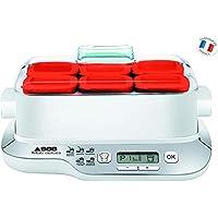 Seb Compact 酸奶机 Multidélices 6 个盆子 白色 / 金属 红色,白色 YG660100